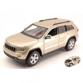 Jeep Grand Cherokee Laredo 2011 Gold by Maisto