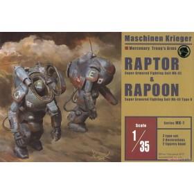 Maschinen Krieger MK-01 1/35 Raptor % Rapoon