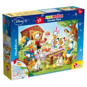 Maxi Puzzle Double-Face Supermaxi 35 Disney Lisciani