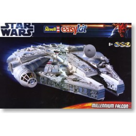 Star Wars EasyKit Model Kit 1/72 Millennium Falcon