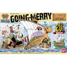 One Piece Grand Ship Going Merry Memo Bandai
