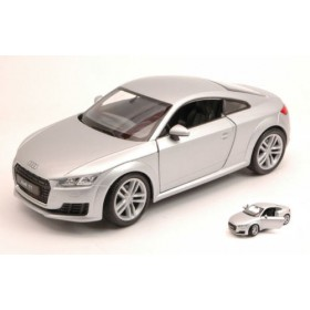 Audi TT Coupe' 2014 Silver by Welly
