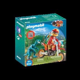 Moto da Cross e Raptor by Playmobil