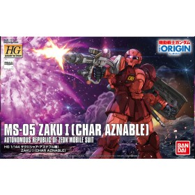 HG Zaku I MS-05 Char Bandai