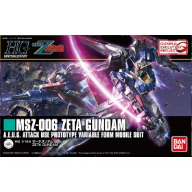HG Gundam Zeta revive Bandai