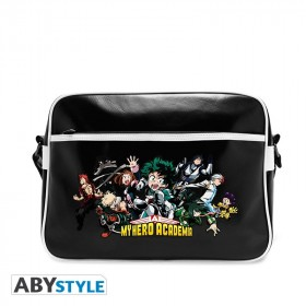 "MY HERO ACADEMIA - Messenger Bag ""Heroes"" - Vinyle"