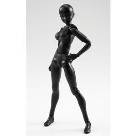 Woman solid black figuarts