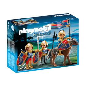 Squadra esplorativa dei cavalieri del Leone Playmobil