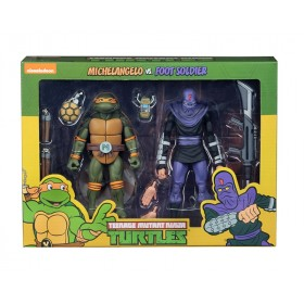 TMNT Cartoon Michelangelo CS Foot S