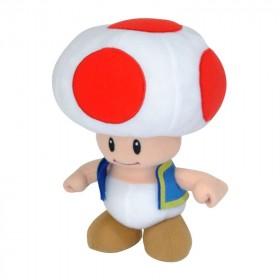 NINTENDO - Peluche 20cm Toad Rouge