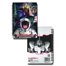 Gundam UC Unicorn notebook