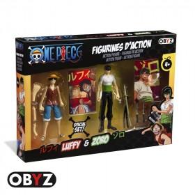 ONE PIECE - Figurine - Pack figurines 12 cm Luffy et Zoro *
