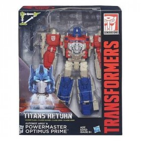 Transfomers Titans Return Powermaster Optimus Prime Hasbro