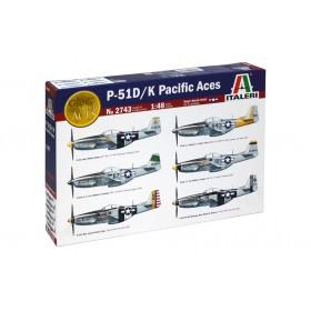 P-51 D/K Pacific Aces by Italeri