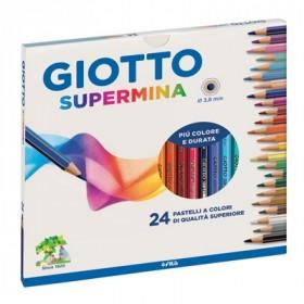 Pastelli Giotto SUpermina 24 pz