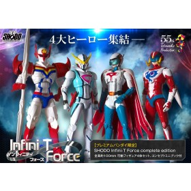 Infini-T Force Shodo Action Figures 4-Pack