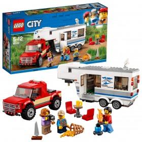 LEGO CITY Pickup e Caravan 60182