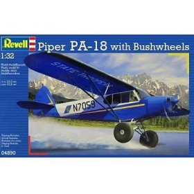 Piper PA-18 with Bushwheels