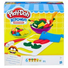 Play-Doh crea e servi