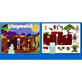 Playmobil Treausure cave with Skeleton 3017