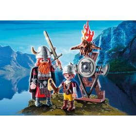 Playmobil Vichingo padre e figlio