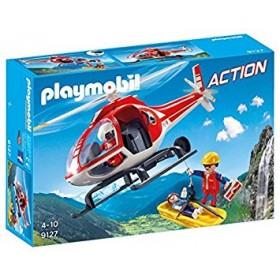 Elicottero soccorso alplino Playmobil Action