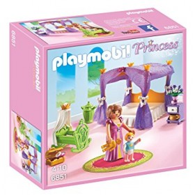 Playmobil Princess camera da letto reale con culla