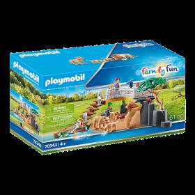 Playmobil 70343 – Recinto dei Leoni