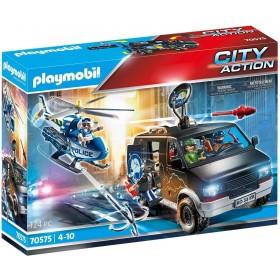 Playmobil 70575 – Furgone della Banda di Ladri Novità