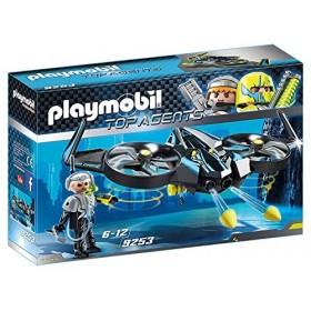 Playmobil Top Agents Mega Drone con sergente K