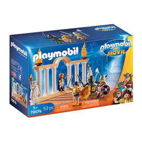 Playmobil The Movie Imperatore Maximus nel Colosseo