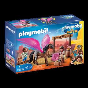Playmobil The Movie  Marla e Del con cavallo alato