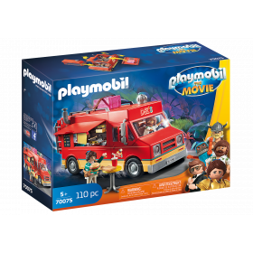 Playmobil The Movie Food Truck di Del
