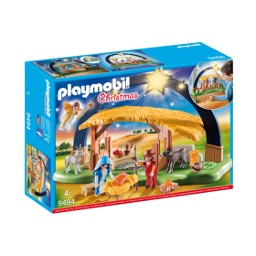 Presepe illuminato by Playmobil