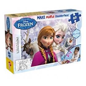 Maxi Puzzle Double-Face Frozen Lisciani