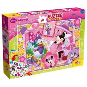 Maxi Puzzle Double-Face Minnie Lisciani