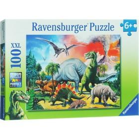Ravensburger Puzzle Dinosauri 100 XXL