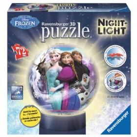 Frozen Puzzle 3D night light