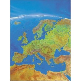 Ravensburger Puzzle 1000 Panorama Map of Europe