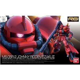 Zaku II MS-06R-2 Johnny Ridden Real Grade Bandai