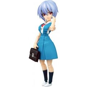 Rebuild of Evangelion Parfom R! Action Figure Rei Ayanami: School Uniform Ver.