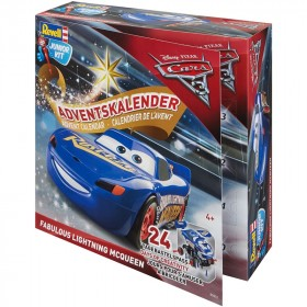 Junior kit Disney Cars 3 Mc Queen Advent Calendar Revell