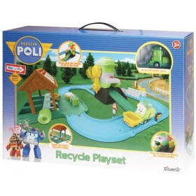 Robocar Poli- Recycle Playset 83155 by Rocco Giocattoli