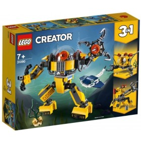 Lego Creator Submarine Robot
