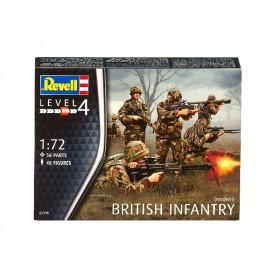 British Infantry modern Revell