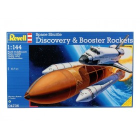 Space Shuttle Discovery & Booster
