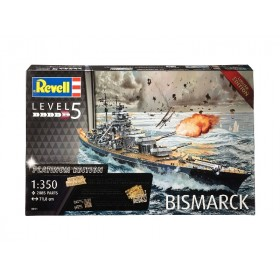 Battleship Bismarck Plastic Model Kit
