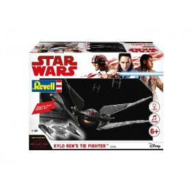Kylo Ren's Tie Fighter Star Wars the last Jedi Revell