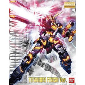 RX-0 Unicorn Gundam 02 Banshee Titanium Finish Bandai