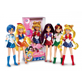 Sailor Moon Doll Mars Giochi Preziosi  FIGURE SAILOR MARS